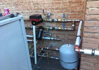 Instalacion de maquina para suelo radiante y refrescante