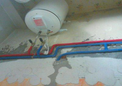 Termos eléctricos, instalación