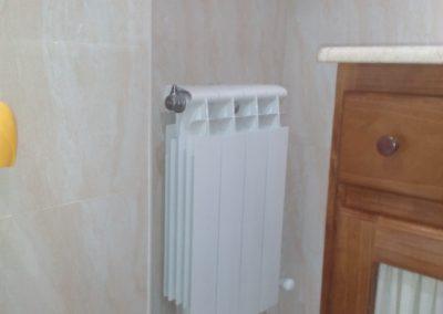 radiador de reforma de baño, calefacción